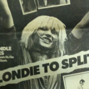 Blondie Split Shock!