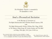 Marriage of Convenience invite for Dave & Nick