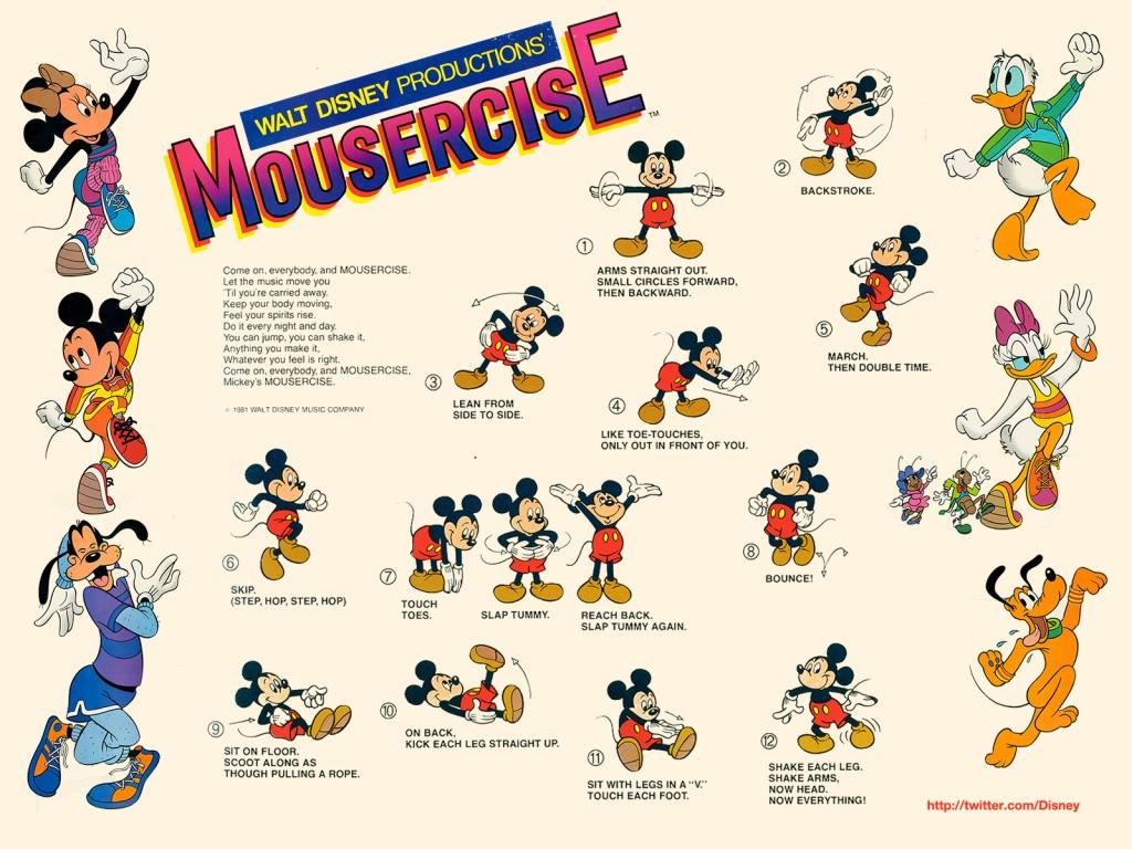 Disney's Mousercise