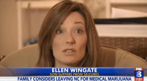 Logan's mom, Ellen Wingate