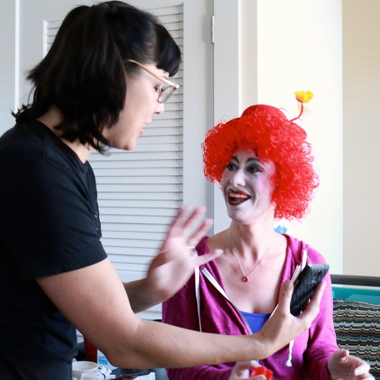 Sandy's First Clown