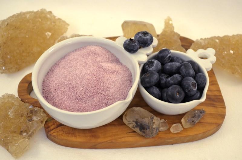 blueberry cotton candy sugar