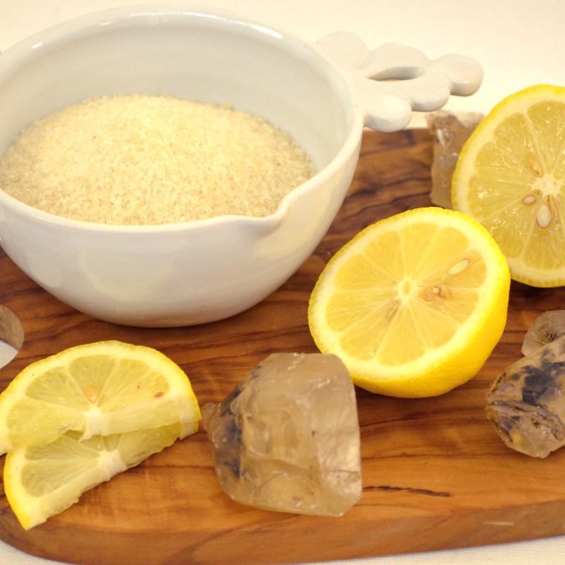 lemon cotton candy sugar