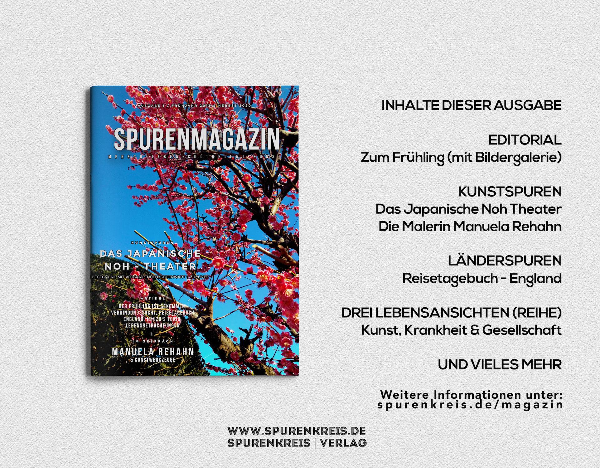 Spurenmagazin – Frühjahr 2013