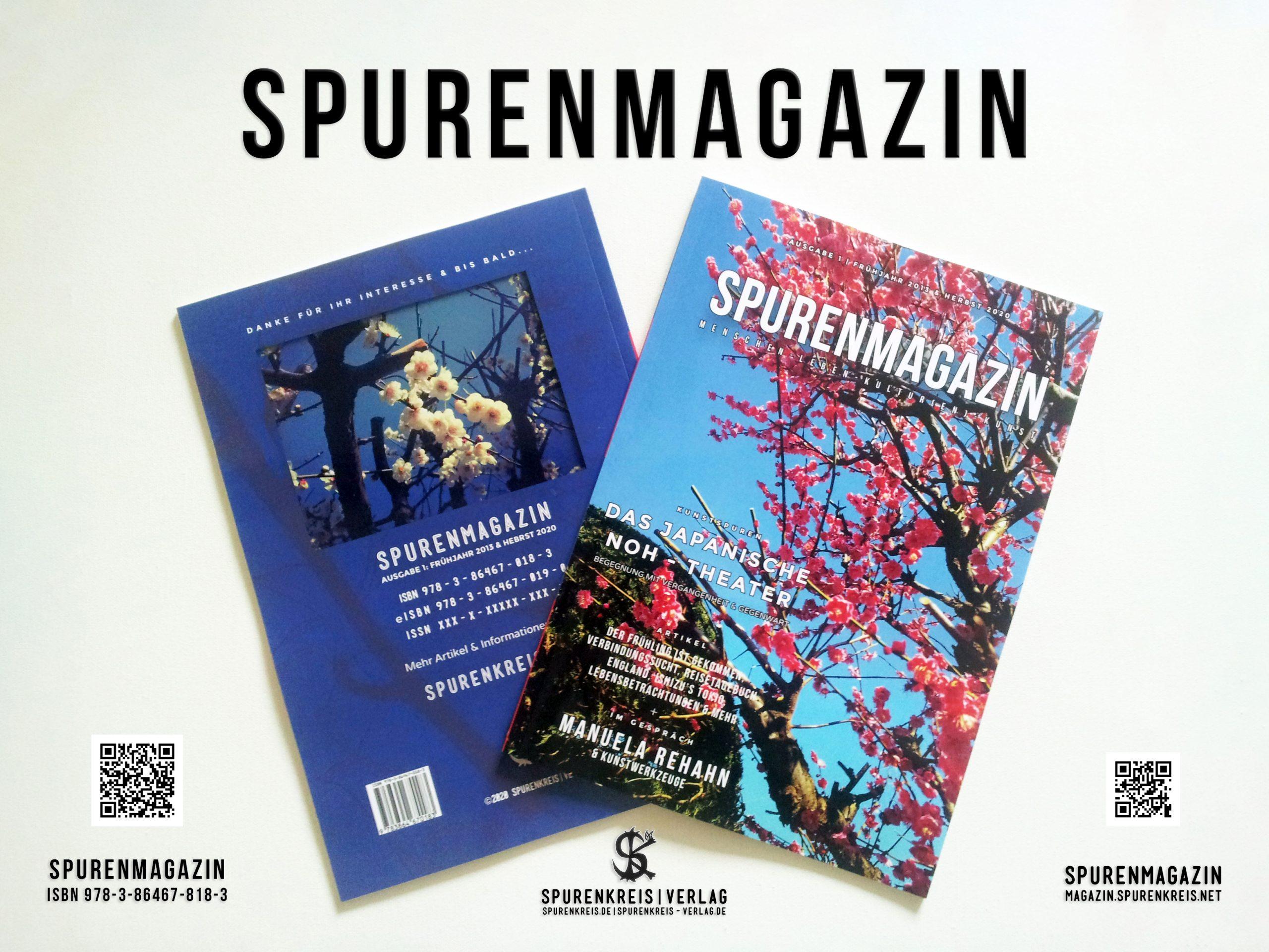 Zur Druckausgabe des 1. Spurenmagazins