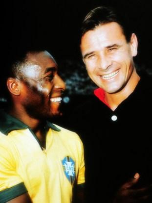 Pele & Lev Yashin - Copa Mundial de 1970.