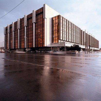 Palacio de La República en 1993. Foto: Thorsten Klapsch/Edition Panorama.