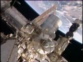 La Soyuz TMA-15M perfectamente acoplada al módulo Rassvet (MIM-1). Foto: NASA TV.