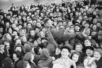 Vida en Moscú el 9 de mayo 1945, Día de la Victoria sobre la Alemania nazi en la Plaza Roja. Foto: © RIA Novosti / Yakov Khalip.