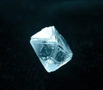 El diamante Samantha Smith, con un peso de 32,7 kilates, encontrado Yakutia, Siberia el 28 de agosto de 1985. Foto: E. Samsonov / RIA Novosti.