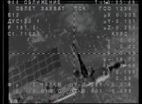 Soyuz TMA-18M en busca de la EEI. Foto: NASA TV.