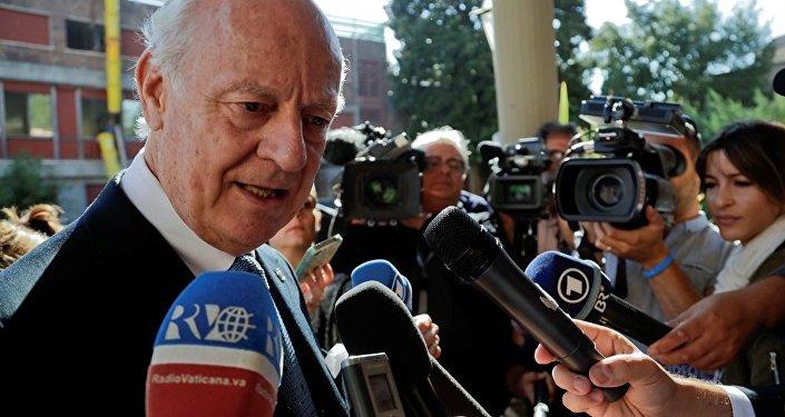 聯合國敘利亞問題特使表示新一輪敘問題會談將於7月初舉行