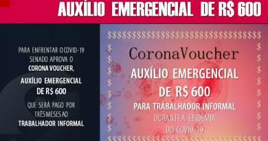 Regras aprovadas pelo Congresso para acessar o auxílio emergencial de R$ 600