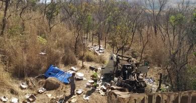 Acidente com vítima fatal próximo a JK na BR-040, carga foi saqueada