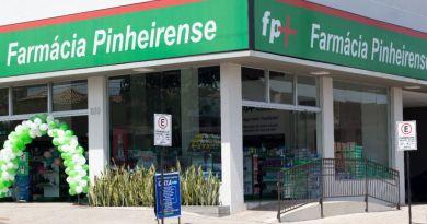 Rede de Farmácias Pinheirense inaugura clínica particular de vacinas em João Pinheiro