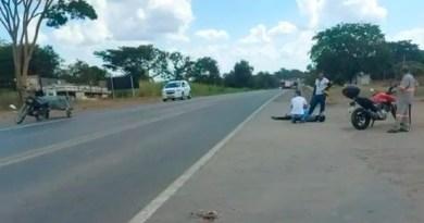 Mais um acidente é registrado em acesso proibido na Br-040, no km-142 em João Pinheiro