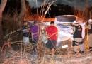 Acidente entre Picape e Caminhonete deixa três pessoas feridas na MG-181, em João Pinheiro