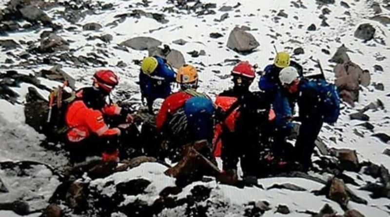 Avalanche no Equador deixa três pessoas mortas