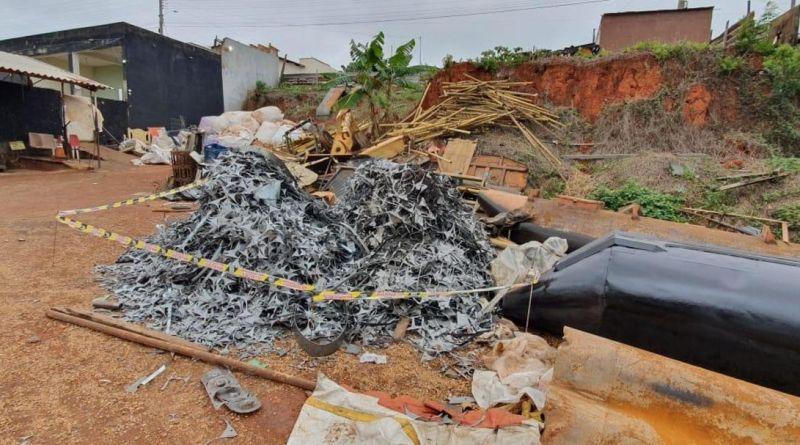 Polícia Civil prende trio por receptação de três toneladas de sucata