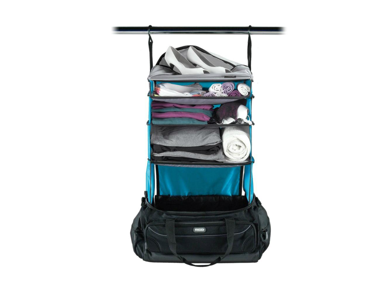 rise gear portable hanging closet