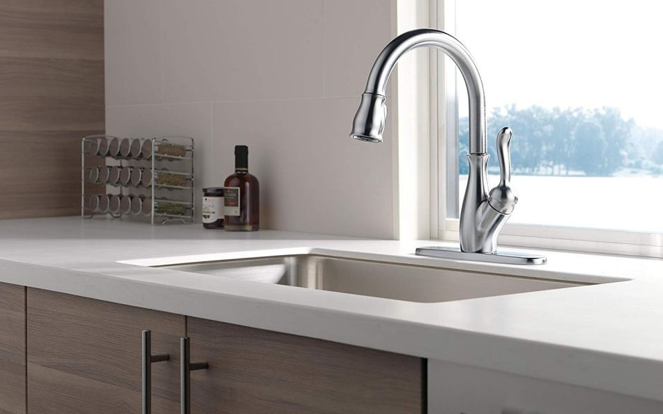 the best kitchen faucets on amazon to