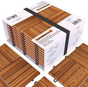 interbuild interlocking floor tiles