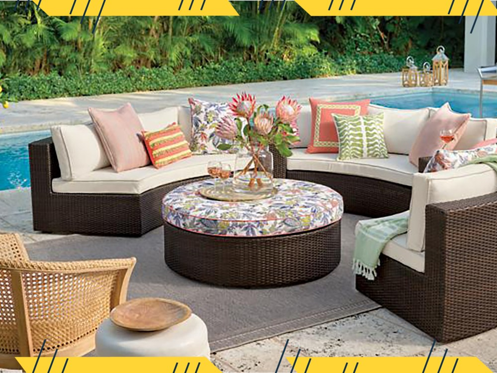 the best outdoor patio furniture sets for big backyards and small balconies alike