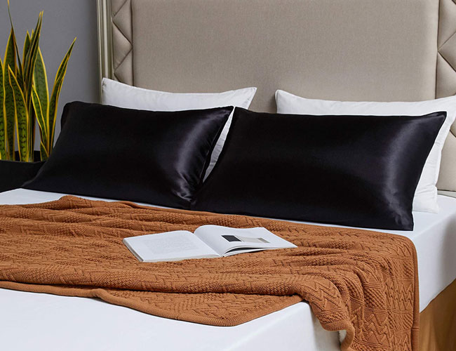 start sleeping on a satin pillowcase and say goodbye to bedhead forever