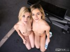 Bella Rose & Piper Perri in Lesbian Step-Sisters! Brother Catches Them Eating Pussy 29
