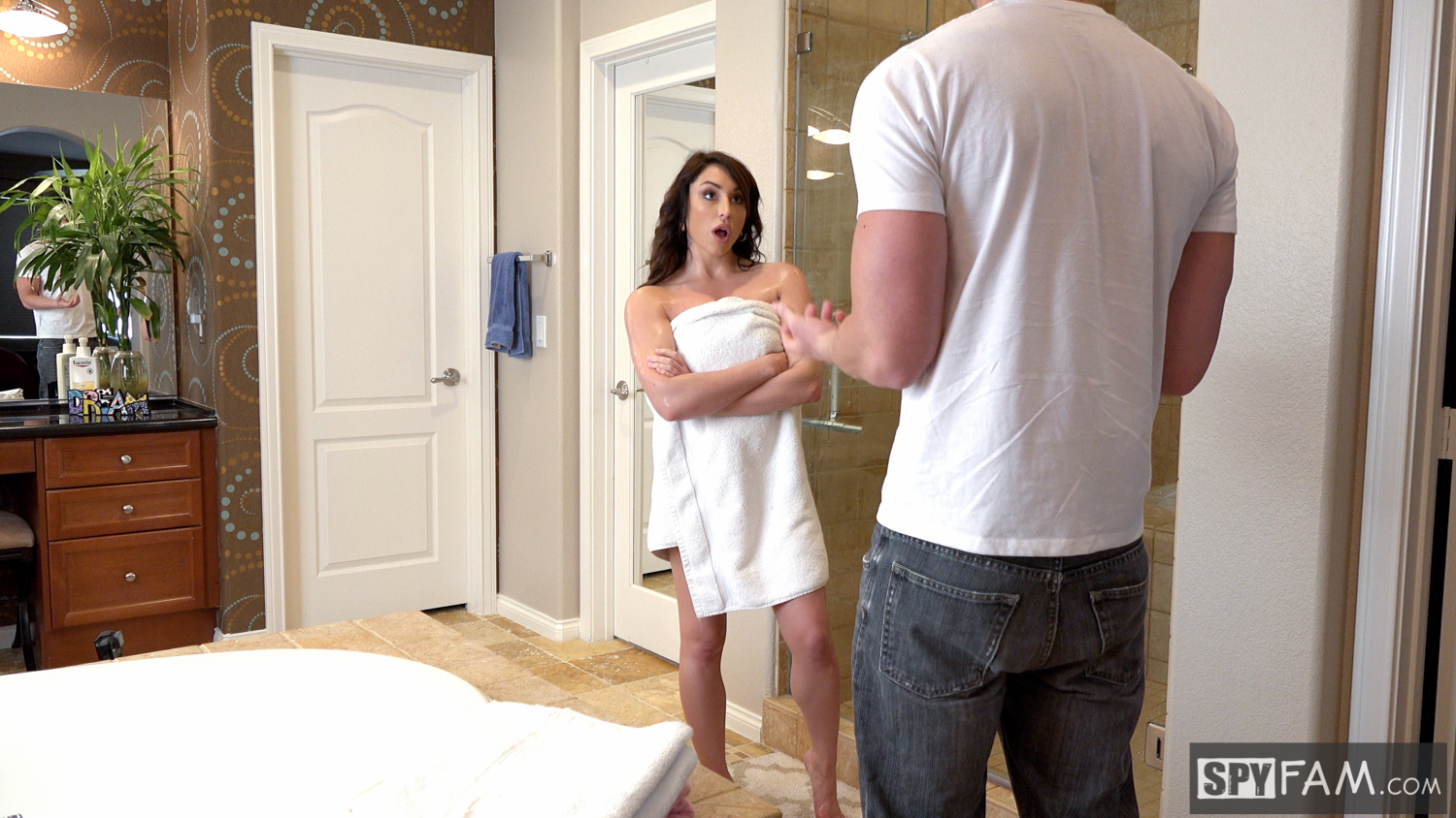 Christiana Cinn in My Dick Is Bigger Than Dad's: Stepson Fucks Stepmom 1