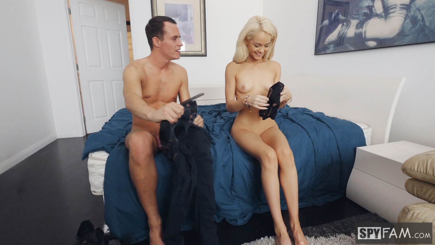 Elsa Jean in Step-Brother Gives Step-Sister Sex Tips 25