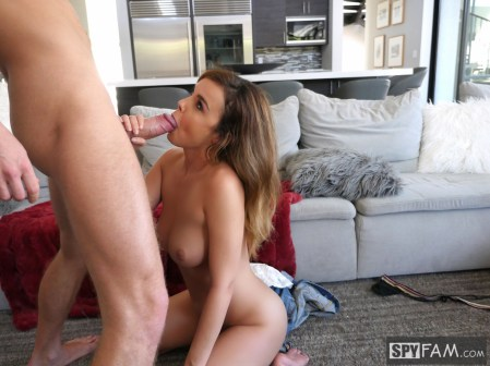 Dillion Harper in Step-Sister Curious About Brother's Cock 10