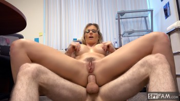Cory Chase in Step-Son Sexually Harassed By Step-Mom At Work 18