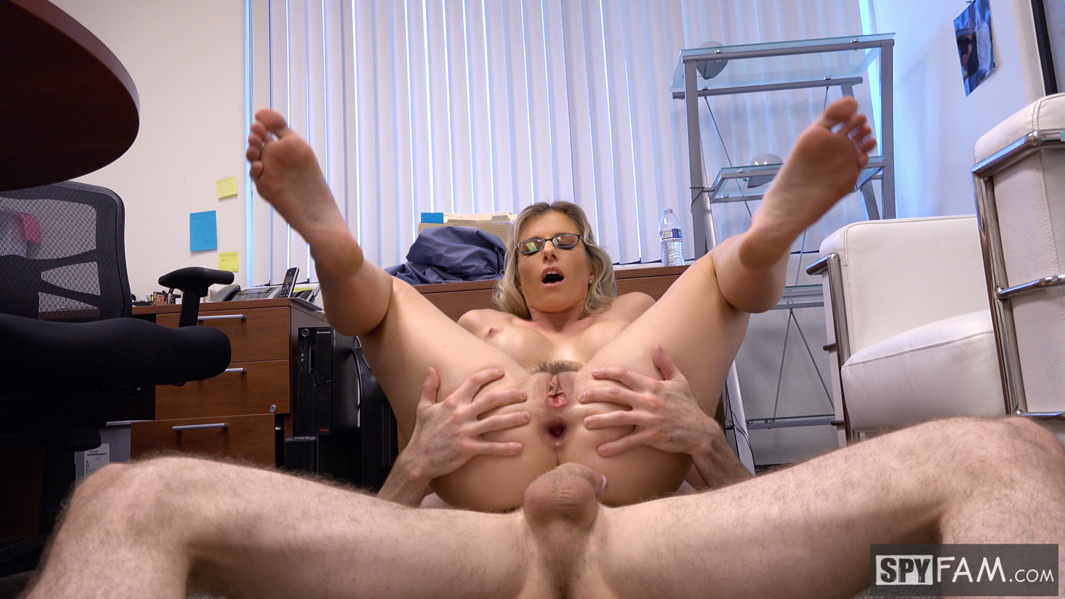 Cory Chase in Step-Son Sexually Harassed By Step-Mom At Work 19