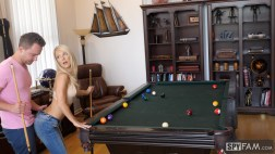 Laura Bentley in Stepmom Plays With Stepson's Cue Stick 11