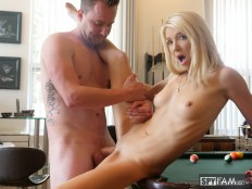 Laura Bentley in Stepmom Plays With Stepson's Cue Stick 17