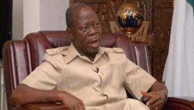 Oshiomole34 - Oshiomhole tasks Obaseki on governance