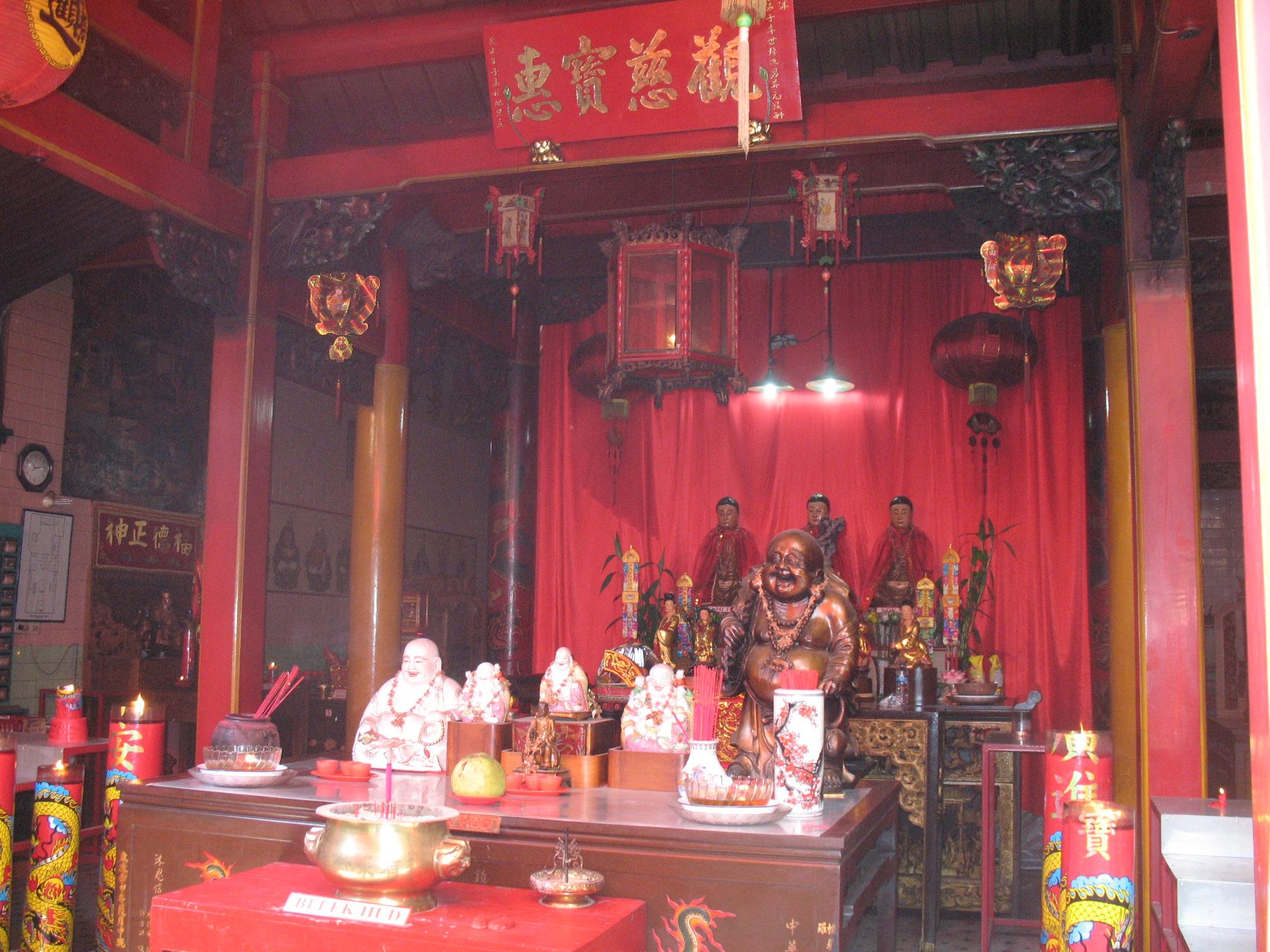Interior Klenteng
