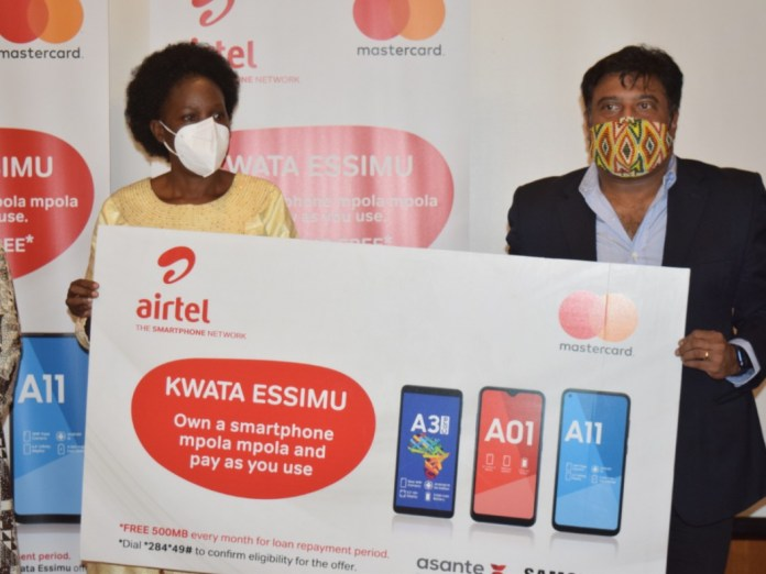 Minister of ICT, Hon. Judith Nabakooba and Airtel's Managing Director