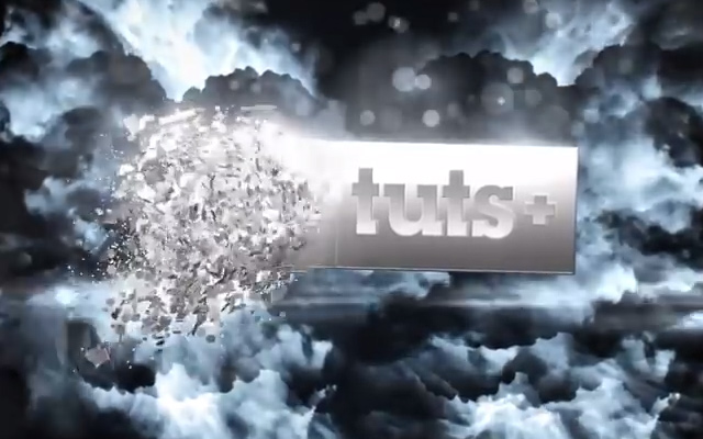 shatter glass text effect title animation tutorial