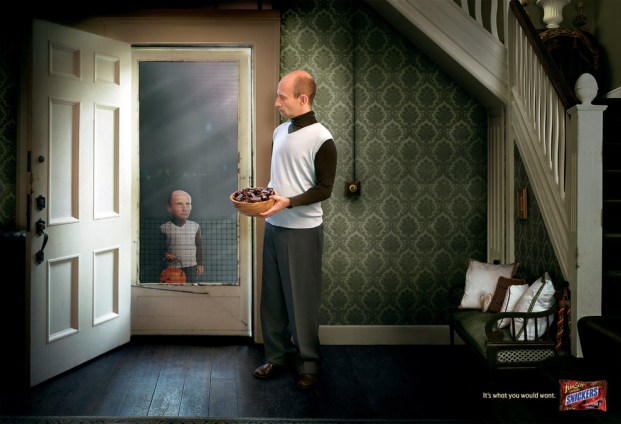 Snickers ad campaign