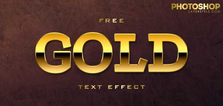 Free gold PSD effect