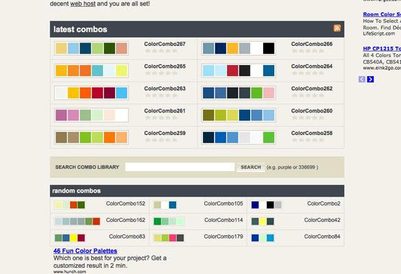 Color Combinations and Color Schemes
