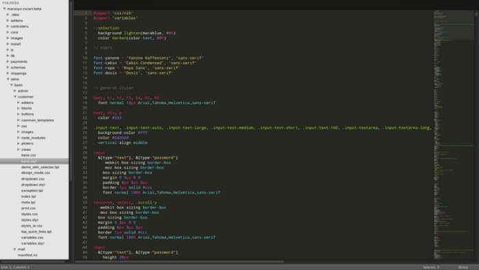 mac design apps sublime text