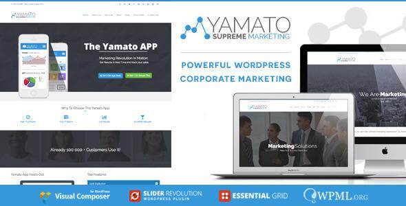 YAMATO - Corporate Marketing WordPress Theme - 16