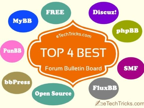 Top 4 Best Free & Open Source Forum Bulletin Board - eTechTricks.com
