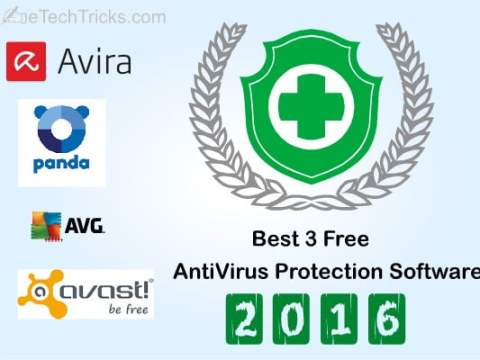 Best 3 Free AntiVirus Protection Software 2016