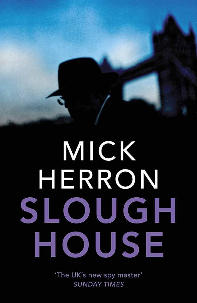 UK book cover first edition of Slough House