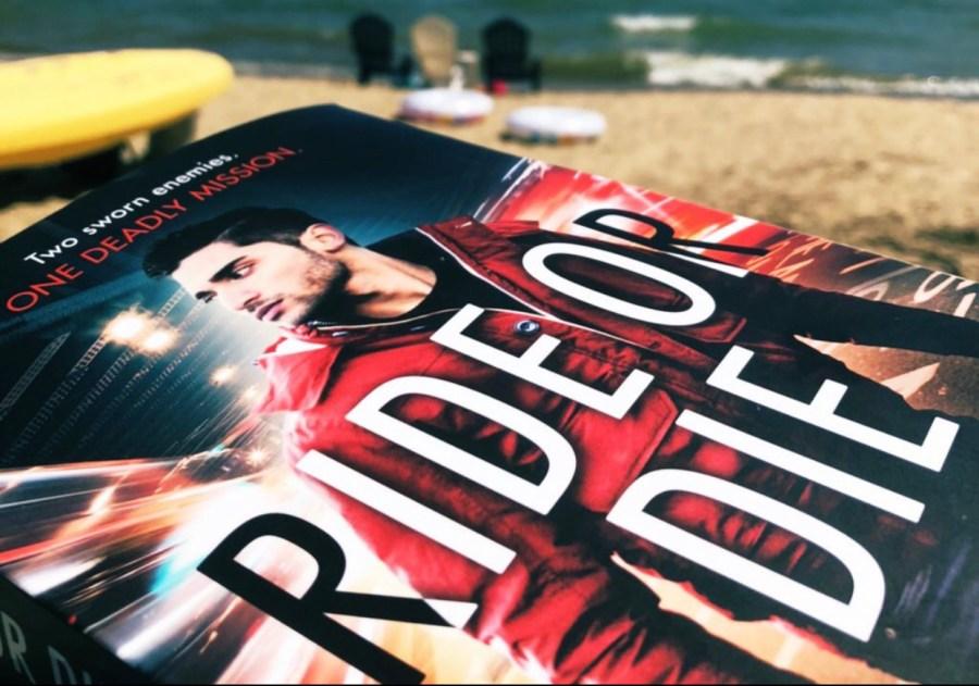 Cover of Ride or Die by Khurrum Rahman on the beach