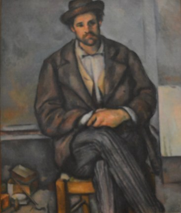 Seated Peasant — Paul Cezanne